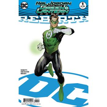 Hal Jordan & Green Lantern Corps Rebirth #1 Variant