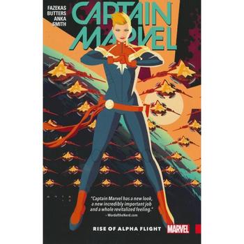 Captain Marvel ( 2016 ) Vol. 1 : Rise of Alpha Flight TP