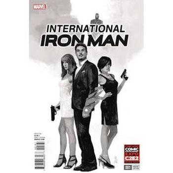 International Iron Man #1 C2E2 Exclusive Variant