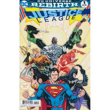 Justice League #1 Variant