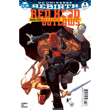 Red Hood & Outlaws #1 Variant