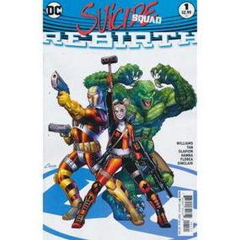 Suicide Squad Rebirth #1 Variant