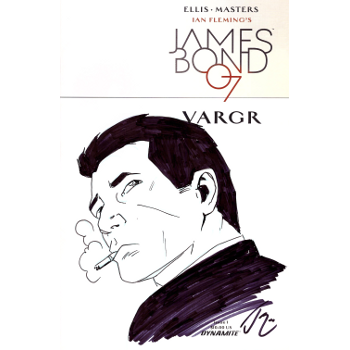 FC16 James Bond #1 -Original Sketch Cover C