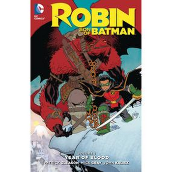 Robin Son of Batman Vol. 1 : Year of Blood TP