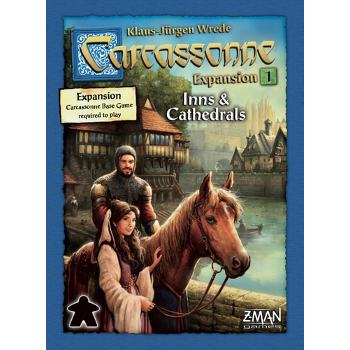 Carcassonne: Inns & Catherdrals Expansion 1