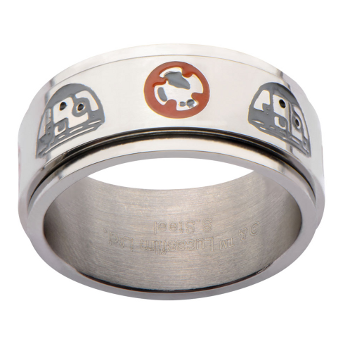 Star Wars BB-8 Spinner Ring (size 10)