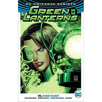 Green Lanterns Vol. 1 : Rage Planet TP (Rebirth)