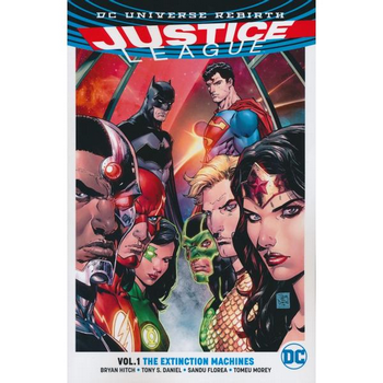 Justice League Vol. 1 : Extinction Machines TP (Rebirth)