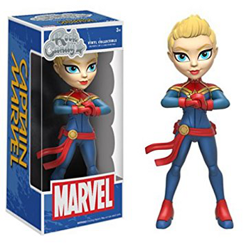Rock Candy Captain Marvel Vinyl Figure