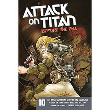 Attack on Titan : Before the Fall Vol. 10 SC