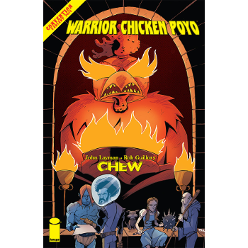 FC17 Chew : Warrior Chicken Poyo SDCC Variant -Signed