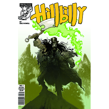 FC17 Hillbilly #1 2nd printing -Signed