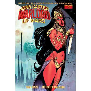 FC17 John Carter : Warlord of Mars #3B -Signed