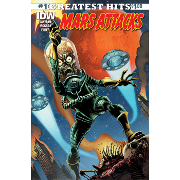 FC17 Mars Attacks #1 IDW Greatest Hits -Signed