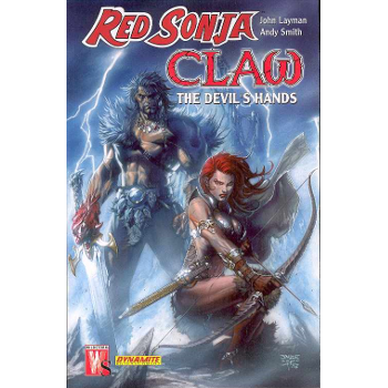 FC17 Red Sonja / Claw TP -Signed