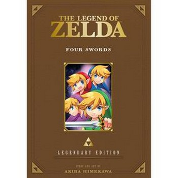 Legend of Zelda Vol. 5 : Four Swords SC