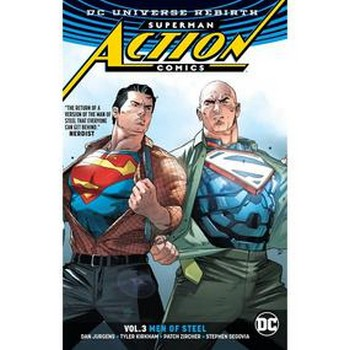 Superman Action Comics Vol. 3 : Men of Steel TP (Rebirth)