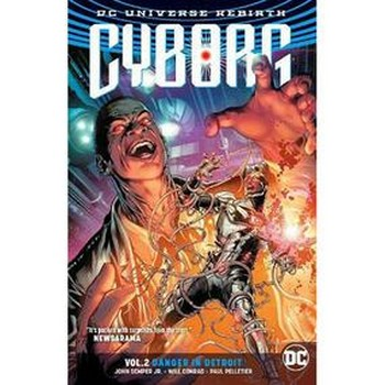 Cyborg Vol. 2 : Danger in Detroit TP (Rebirth)