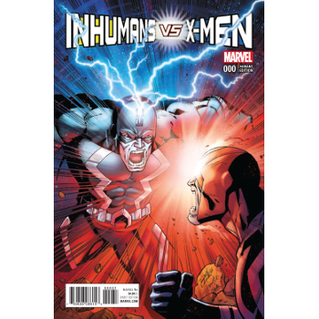 Inhumans vs X-Men #0 Variant