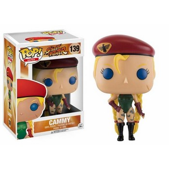 POP Vinyl Street Fighter : Cammy