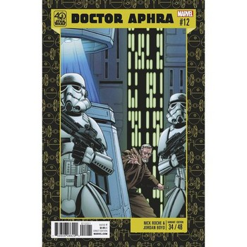Star Wars Doctor Aphra #12 – 40th Anniversary Variant