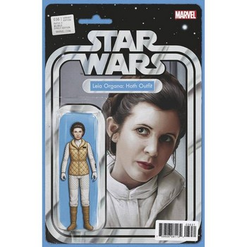 Star Wars #36 – Leia Action Figure Variant