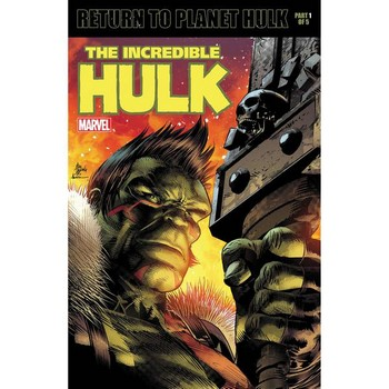Incredible Hulk #709 Legacy Lenticular Variant