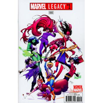 Marvel Legacy #1 Reeder Women of Marvel Variant