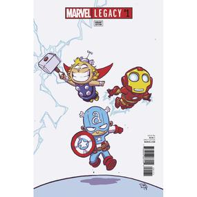 Marvel Legacy #1 Skottie Young Variant