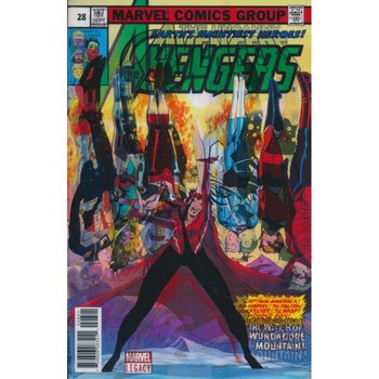 Uncanny Avengers #28 – Legacy Lenticular Variant