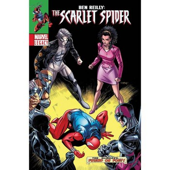 Ben Reilly Scarlet Spider #10 Legacy Lenticular Variant
