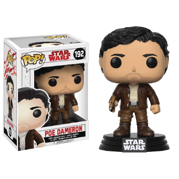 POP Vinyl Star Wars E8 : Poe Dameron