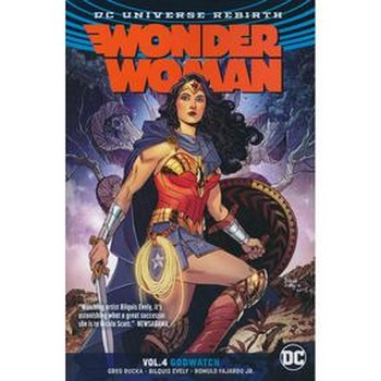 Wonder Woman Vol. 4 : Godwatch TP (Rebirth)