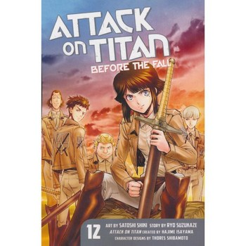 Attack on Titan : Before the Fall Vol. 12 SC