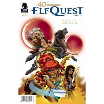Elfquest 40th Anniversary Ashcan