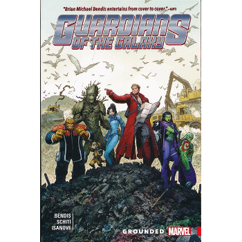 Guardians of the Galaxy New Guard Vol. 4 : Grounded TP