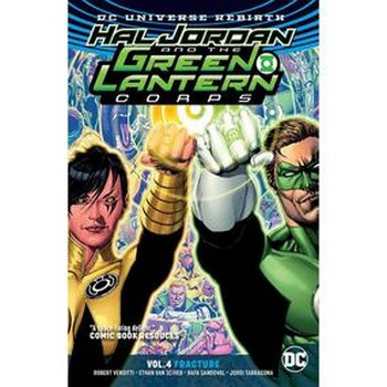 Hal Jordan and the GLC Vol. 4 : Fracture TP (Rebirth)