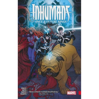 Inhumans : Once & Future Kings TP