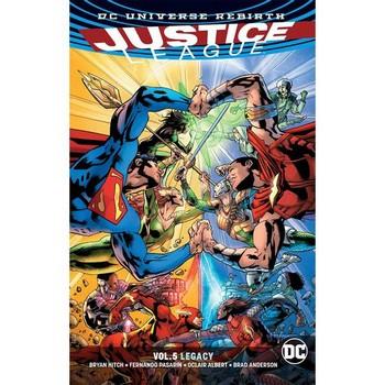 Justice League Vol. 5 : Legacy TP (Rebirth)