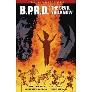 BPRD Devil You Know Vol. 1 : Messiah TP