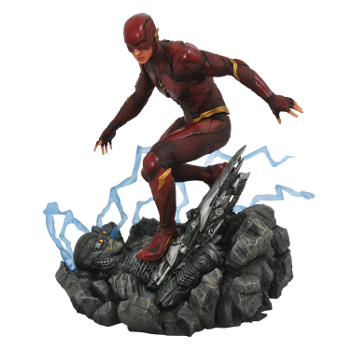 DC Gallery JLA Movie The Flash PVC Figure