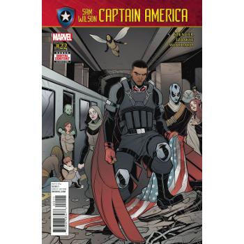 FC18 Captain America Sam Wilson #22 -Signed