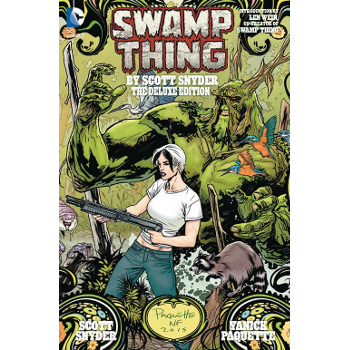 FC18 Swamp Thing Deluxe Edition HC (New 52) -Signed