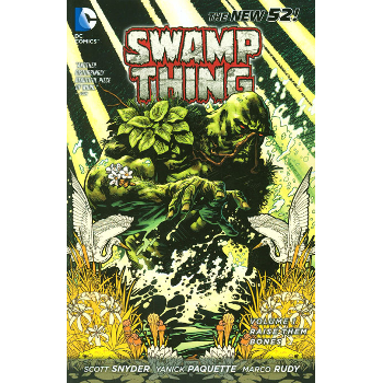 FC18 Swamp Thing Vol. 01 TP (New 52) -Signed