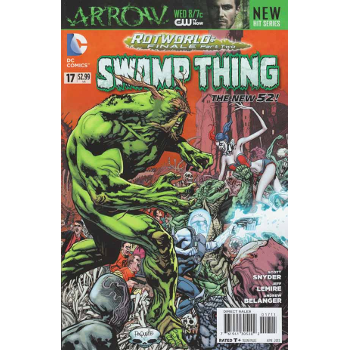 FC18 Swamp Thing #17 (New 52) -Signed