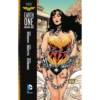 FC18 Wonder Woman Earth One Vol. 01 HC -Signed