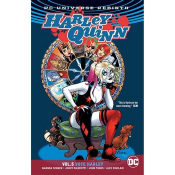 Harley Quinn Vol. 5 : Vote Harley TP (Rebirth)