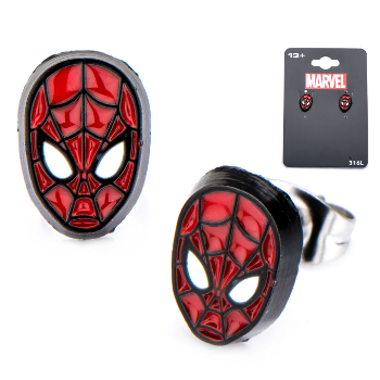 Spider-Man Face Stud Earrings