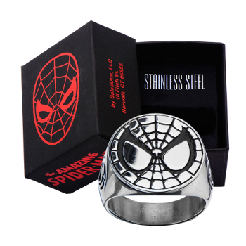 Spider-Man Face Ring (Size 10)