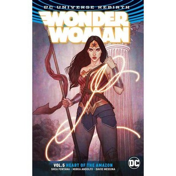 Wonder Woman Vol. 5 : Heart of the Amazon TP (Rebirth)